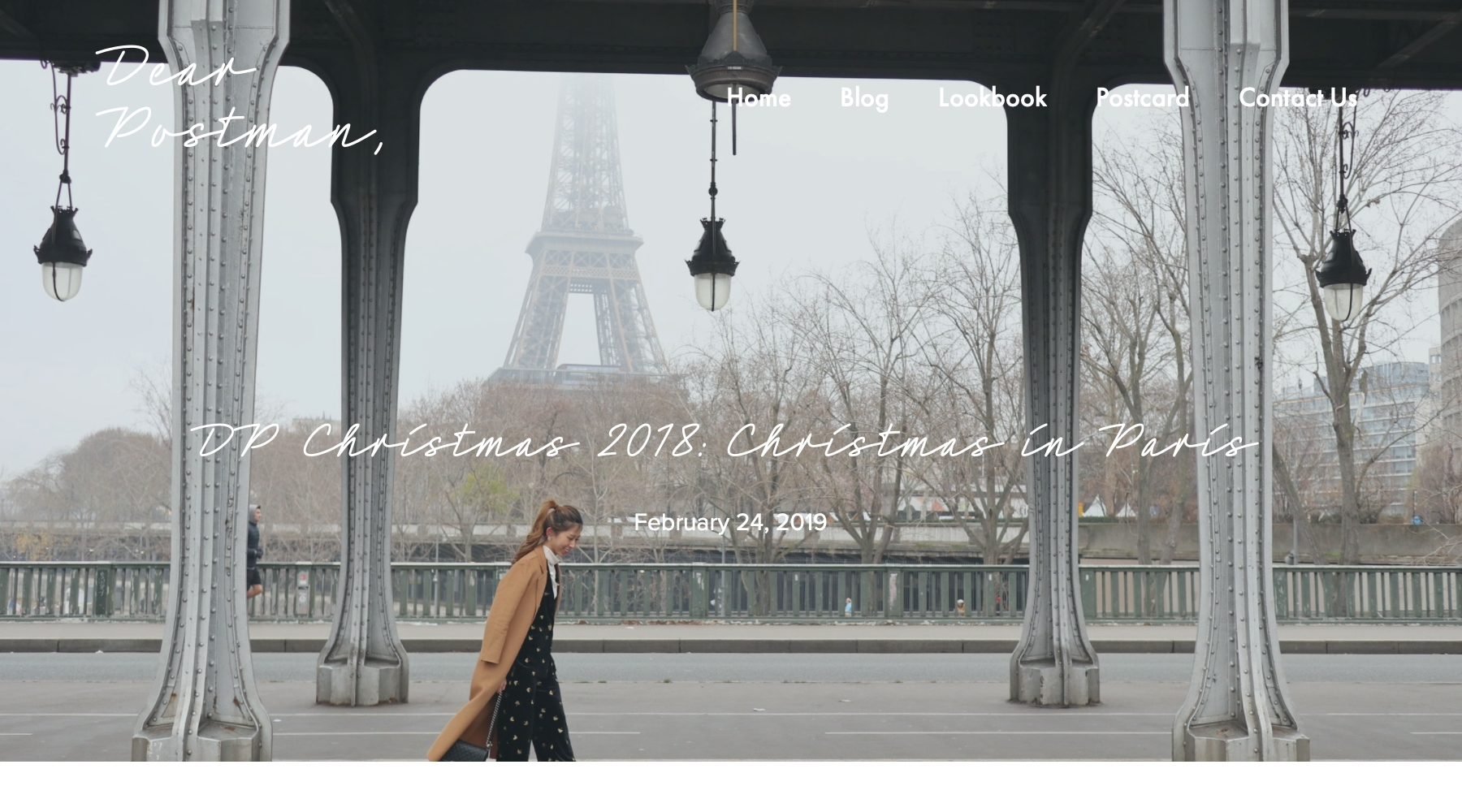 DP Christmas 2018: Christmas in Paris