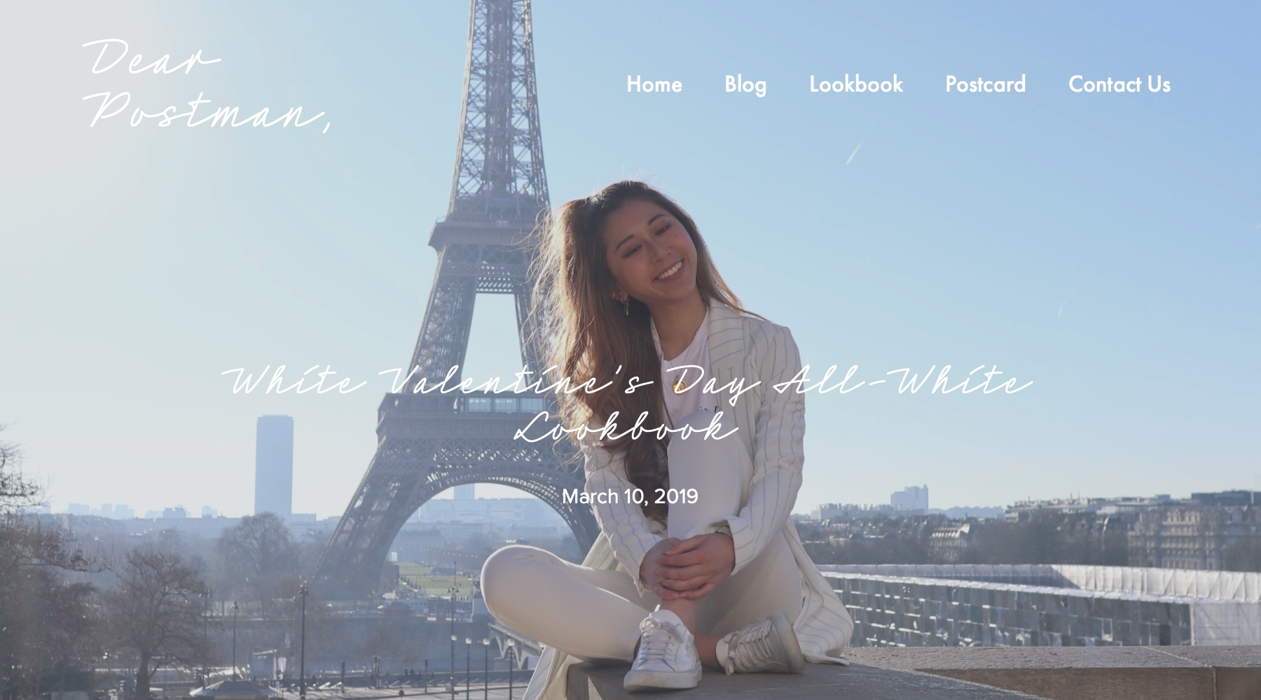 White Valentine's Day All-White Lookbook