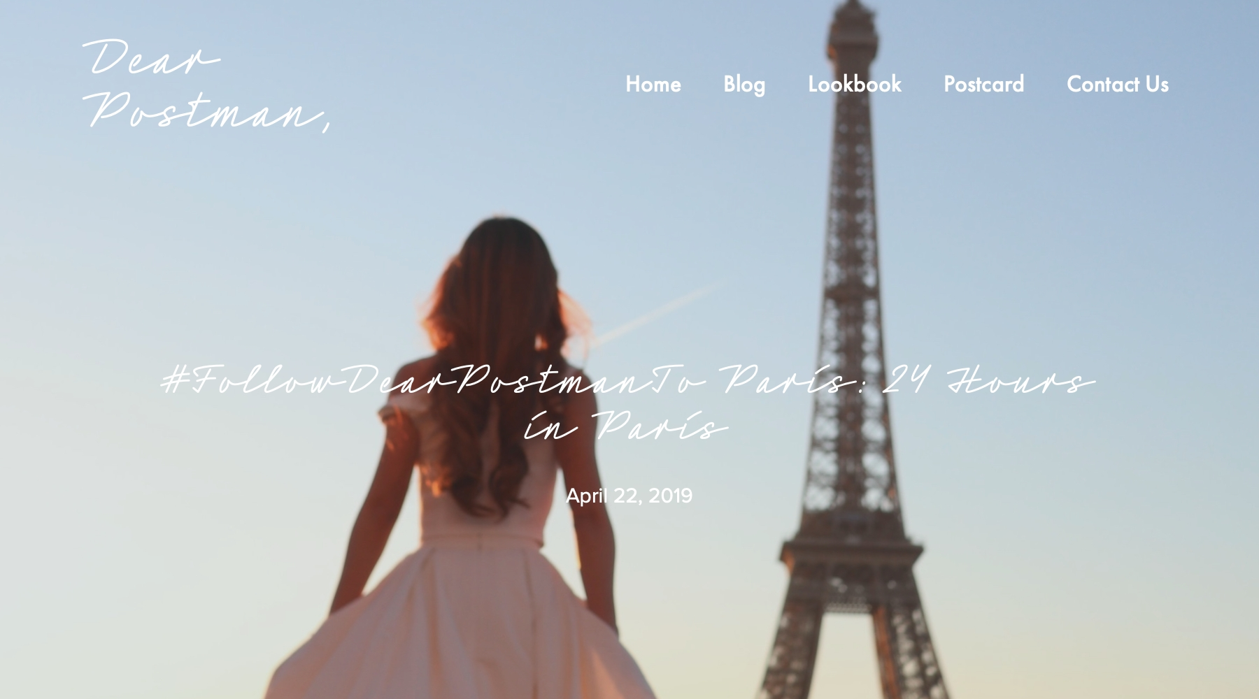 #FollowDearPostmanTo Paris: 24 Hours in Paris