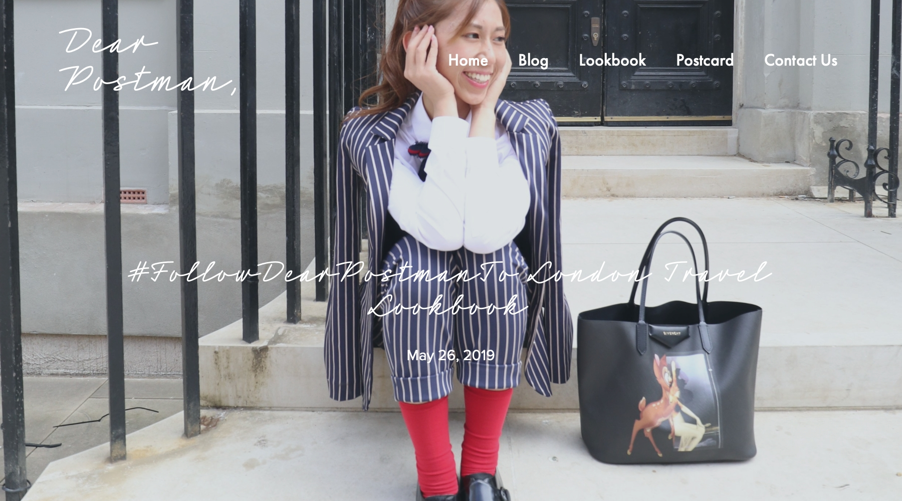 #FollowDearPostmanTo London Travel Lookbook