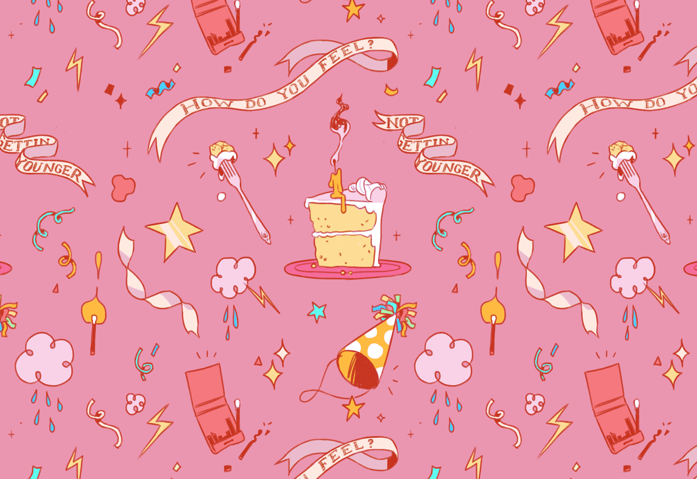 Birthday Repeating Pattern