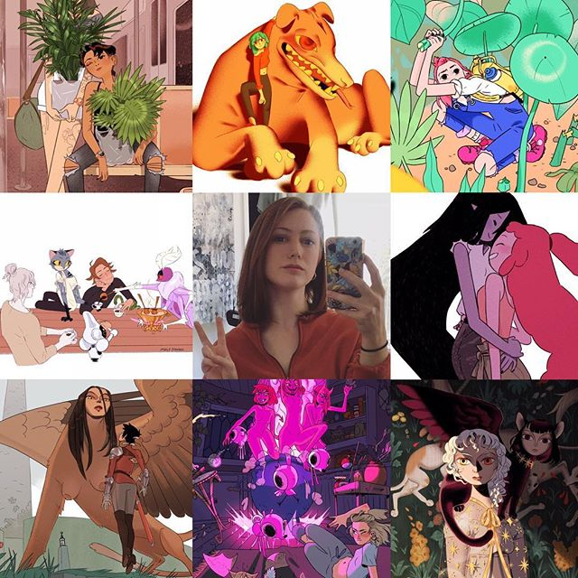Hi #artvsartist I'm Molly and I hope you like the art that I like cause I'm not stoppin anytime soon 😉💕 . . . . . . . #illustration #illustratorsoninstagram #womenillustrators #characterdesigner #artvsartist2019  #newyorkillustrator #freelanceillustrator #fantasy #fashion