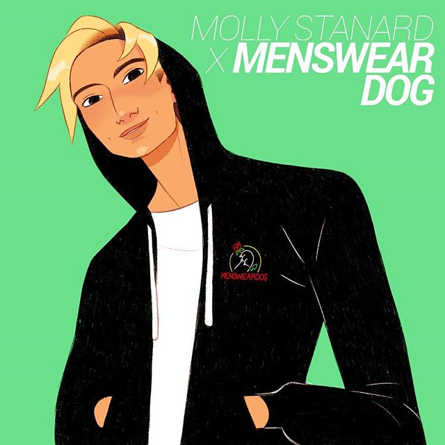 MWD SS19 collection 😌 collab by @mollystanard x @mensweardog link in @mensweardog's bio 📦