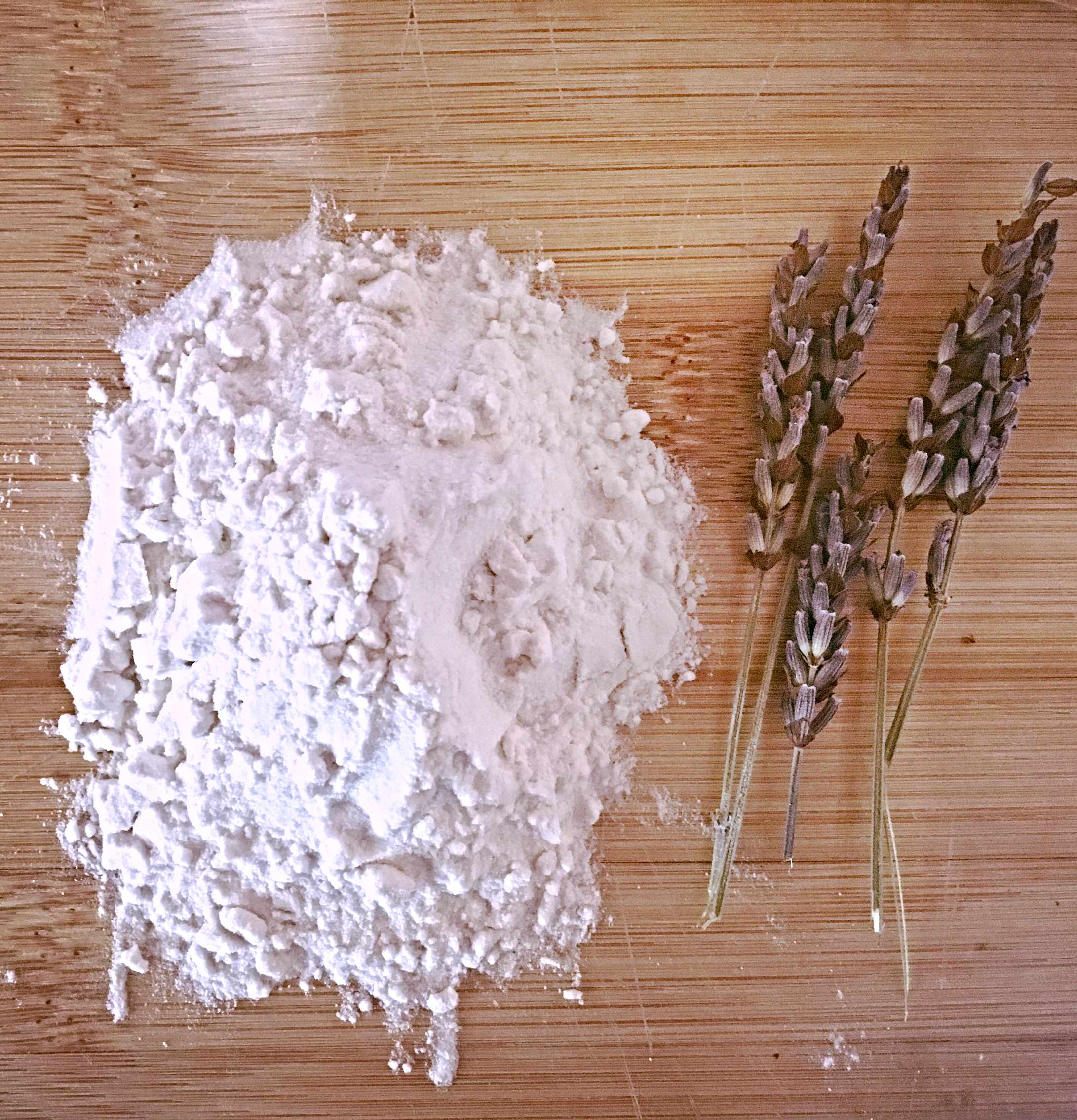 Arrowroot Powder + Lavender