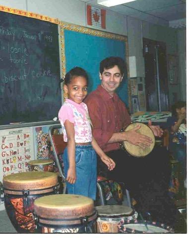 Paul Houle - school workshop 1998