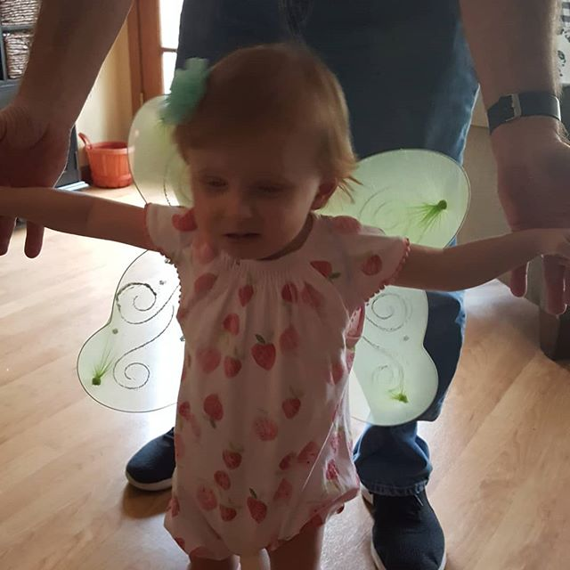 It is such fun when granddaughters start to spread  their wings.  #iwanttowalk