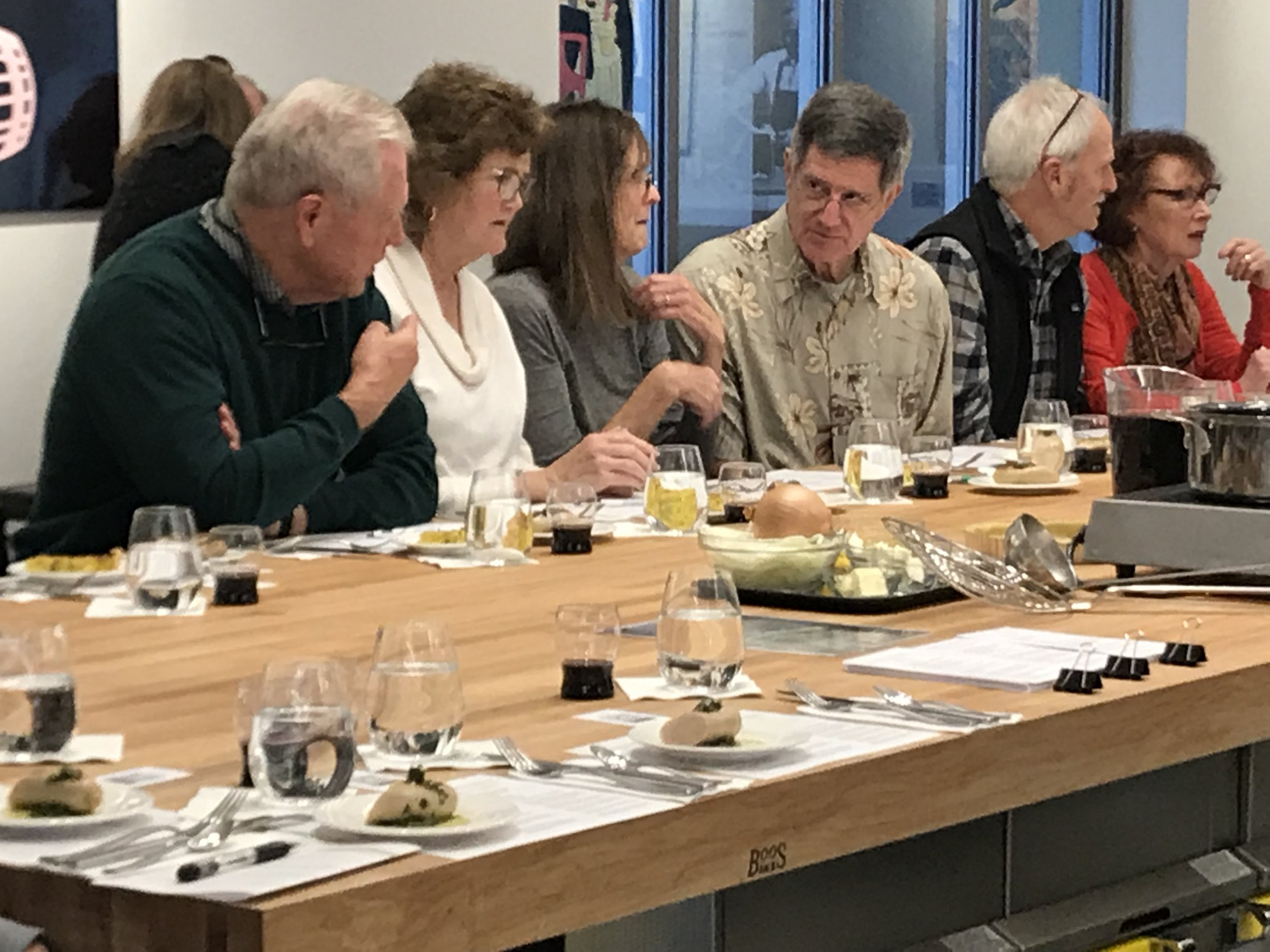 Tastings from the medieval food and wine talks