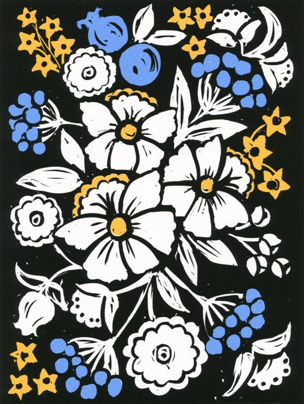 Katharine Woodman-Maynard Folk Art Flowers