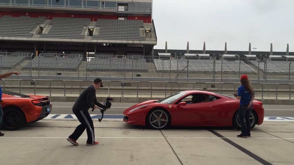 BTS Filming at F1 Circuit of The Americas track in Austin