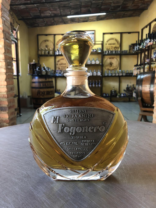 Our Newest Tequila - El Fogonero 9 Year Aged Reserve Extra-Anejo