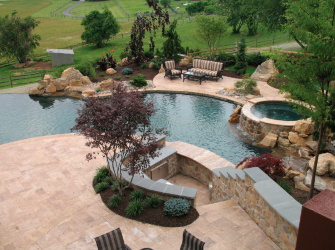 Our services include some of the finest in landscape design for both the front and back yards, from stone driveways, to Travertine Paver pool decks, and finished off with professionally designed lighting to create an elegant atmosphere for your home at night.