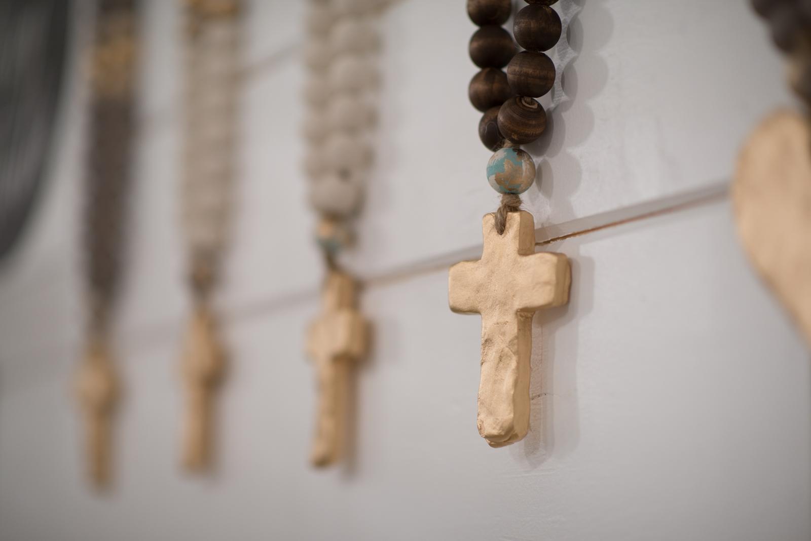 cross blessing beads