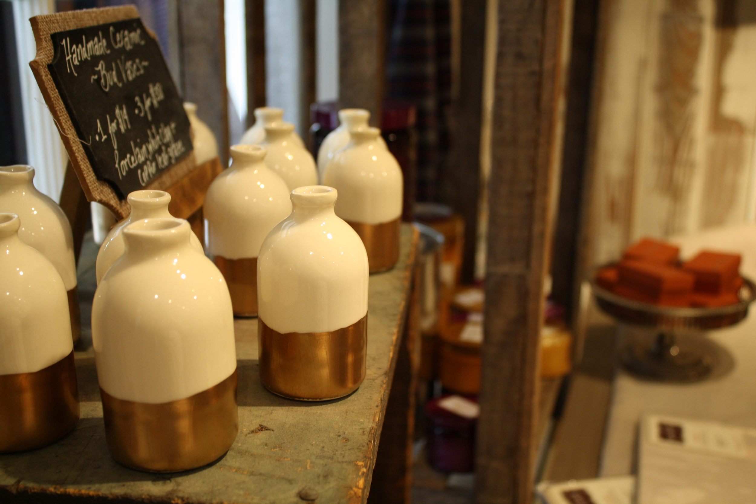Handmade Bud Vases from Honeycomb Studio