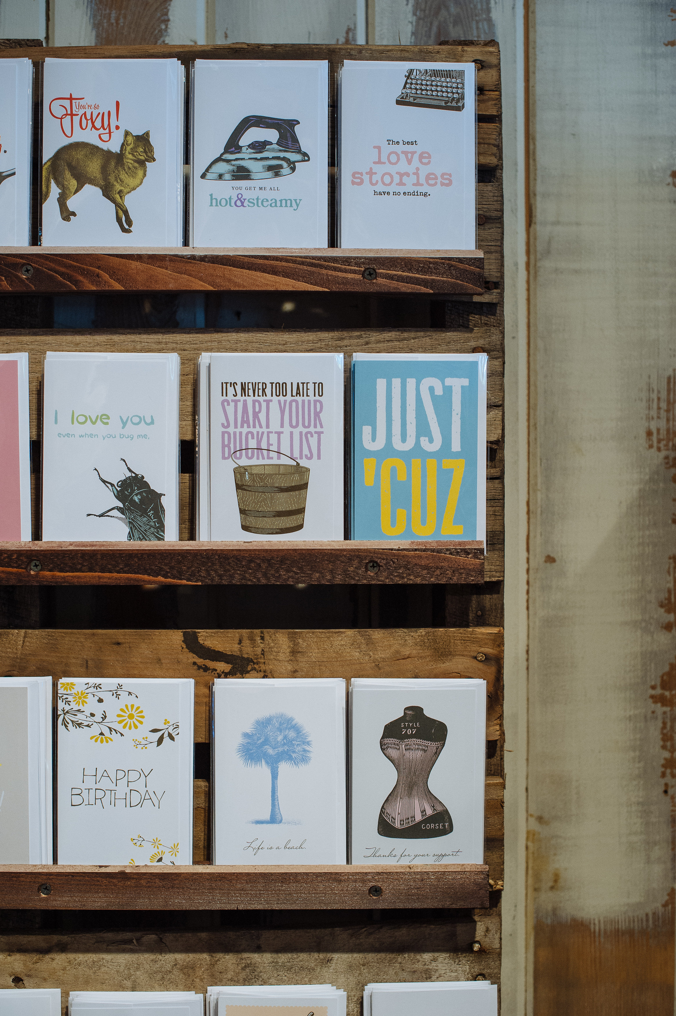 Greeting Cards from Breathless Paper Co.