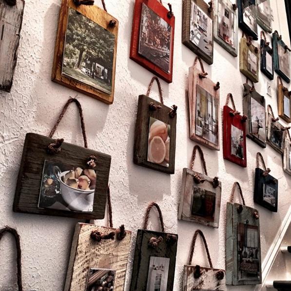 Barnwood Frames from @urban_cottage_inc Instagram
