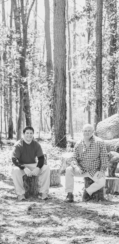 WoodKith co-founders, Shane Schoenith + Wayne Bedenbender