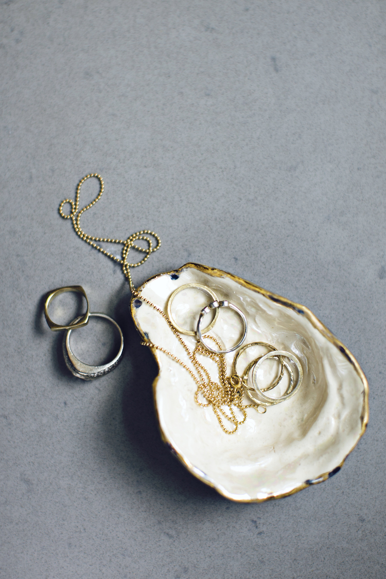Heirloomed Collection Oyster Ring Dish