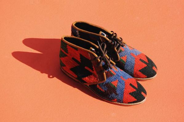 """All About the Colors, the Kilim Chukka"", Res Ipsa USA"
