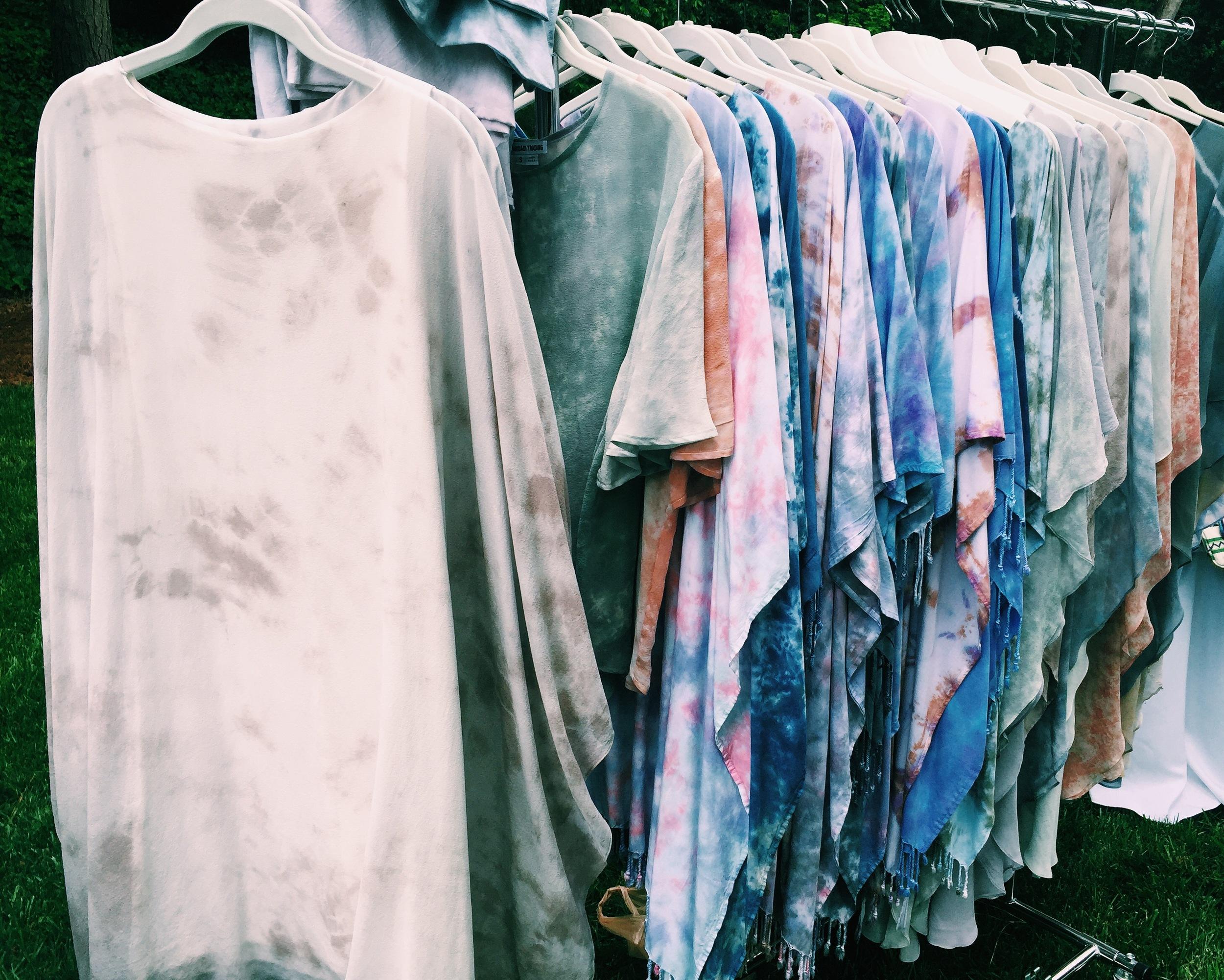 Maridadi Trading, Hand-dyed Silk tunics and Dresses