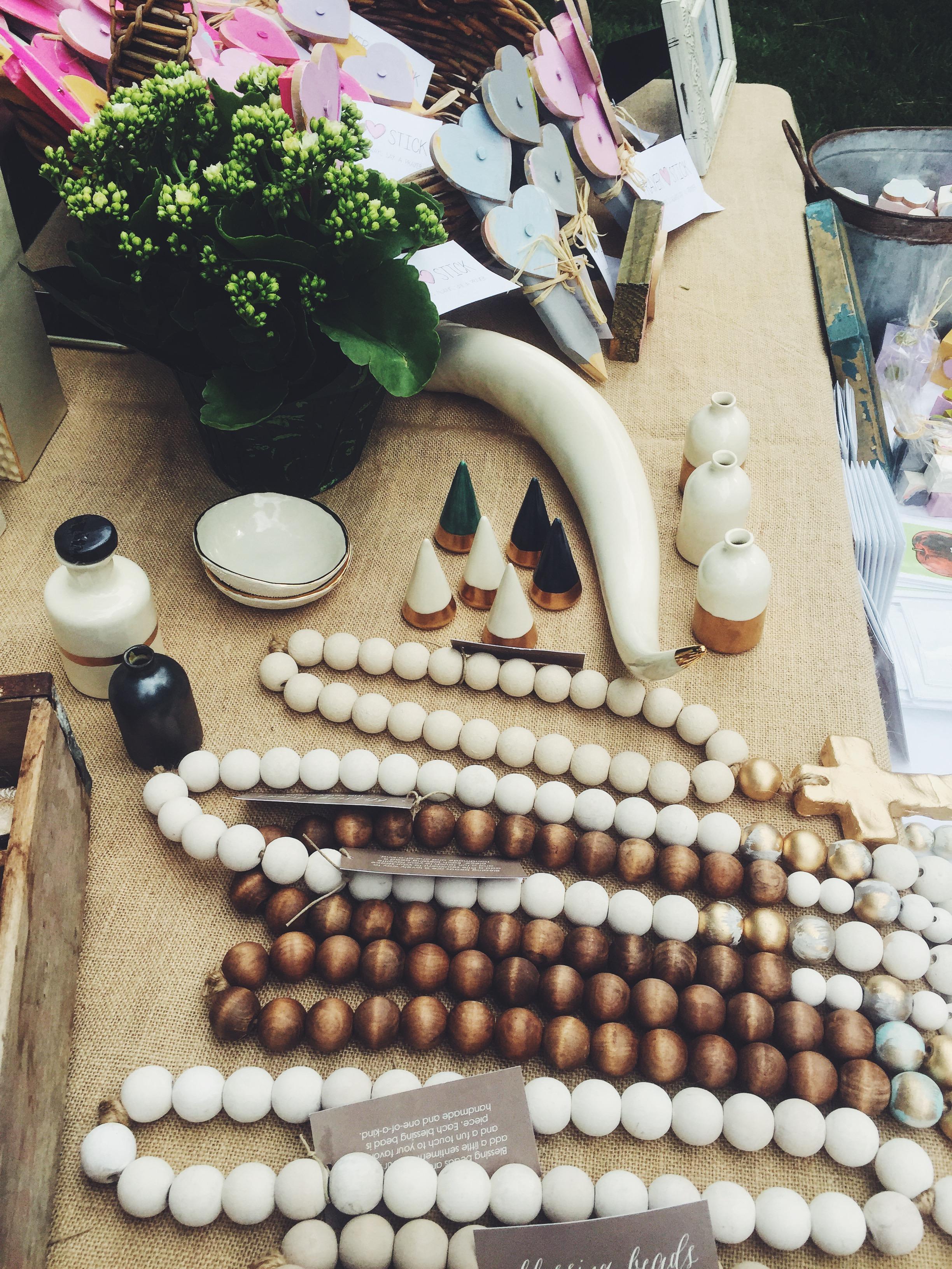 Honeycomb Studio, Bud Vases + Ring Holders + White Porcelain Antler