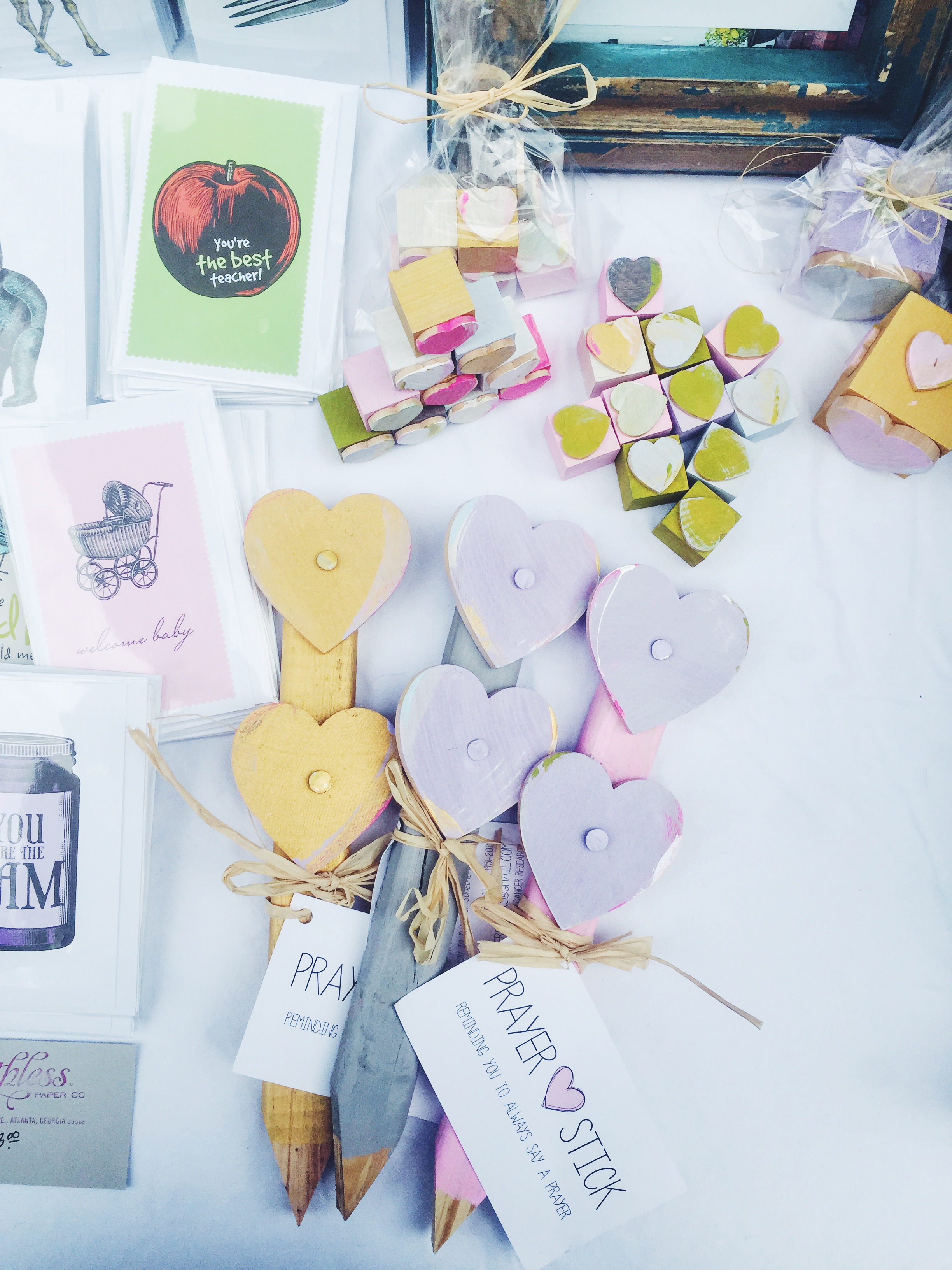 Prayer Sticks + Breathless Paper Co Cards