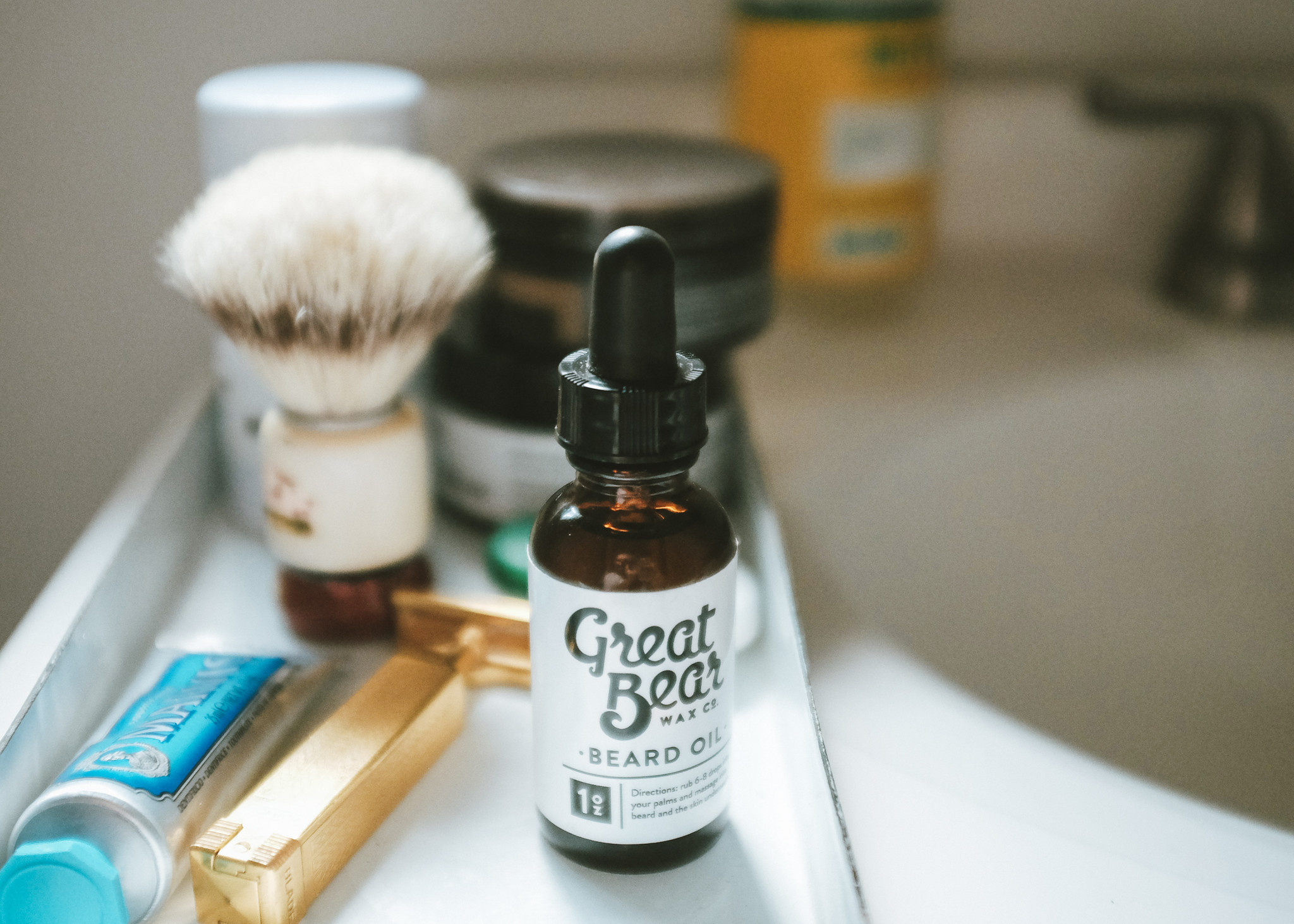 Beard Oil from Great Bear Wax Co.
