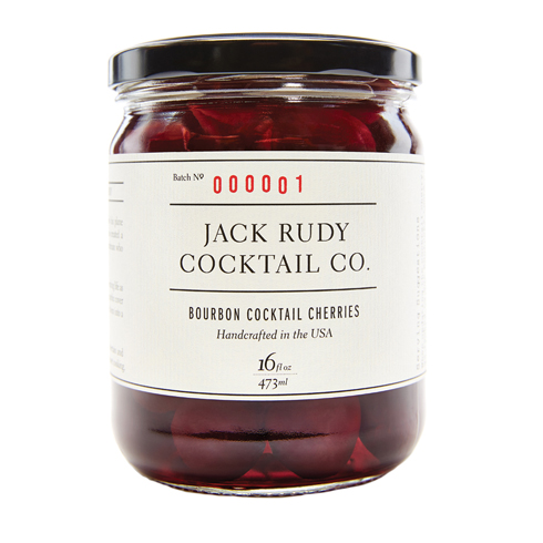 Bourbon Cocktail Cherries from Jack Rudy Cocktail Co.