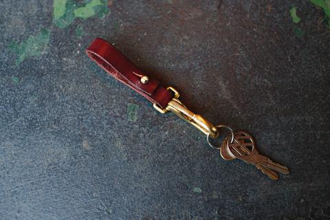 leather key chain / sturdy brothers