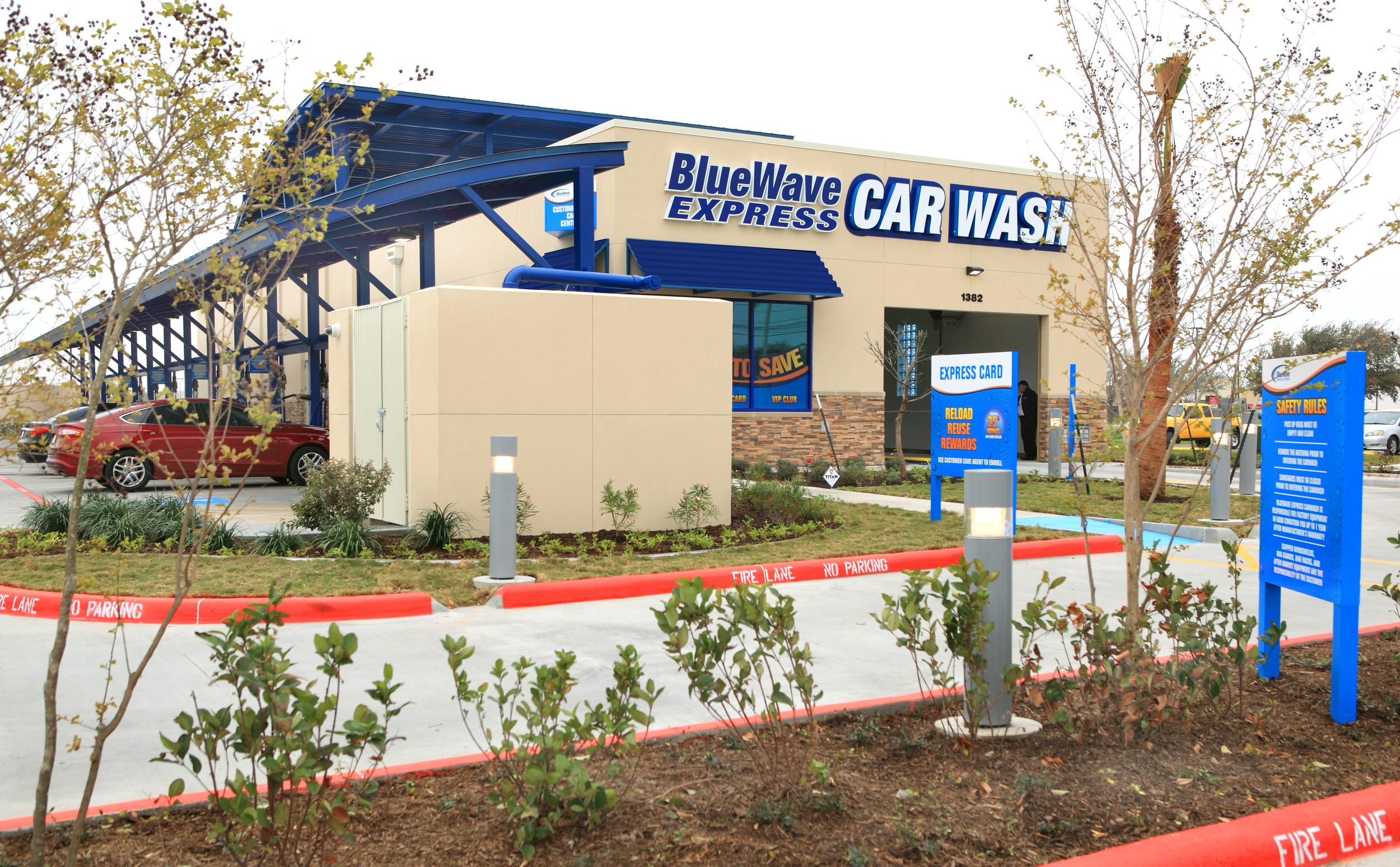 BlueWave Express Car Wash