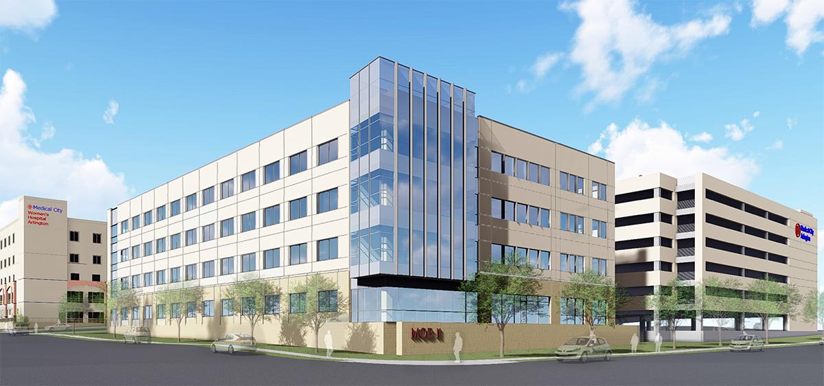 Medical City Arlington MOB and Garage.jpg