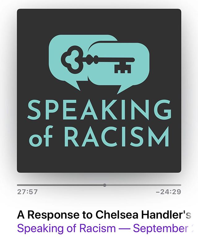 """Have you seen Chelsea Handler's special on @netflix? It's called """"Hello Privilege, It's Me, Chelsea."""" This podcast episode of @speakingofracism is an excellent breakdown. They dive deep in the many issues and the complexities - not just in this Netflix special, but also in what it presents.  So many good insights in this podcast episode. Highly recommend listening, especially for those of us who want to be allies.  #hruprise"""