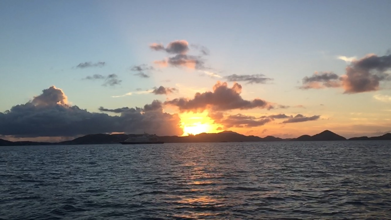 Sunset Sail St. John