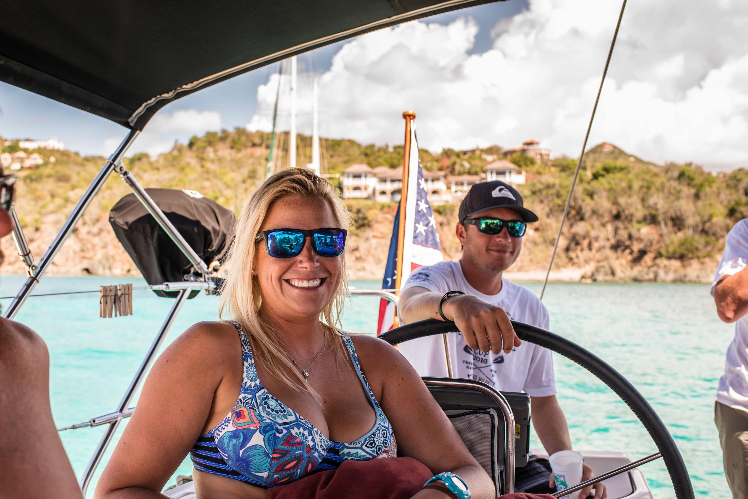 Sailing BVI USVI St. Thomas St. John