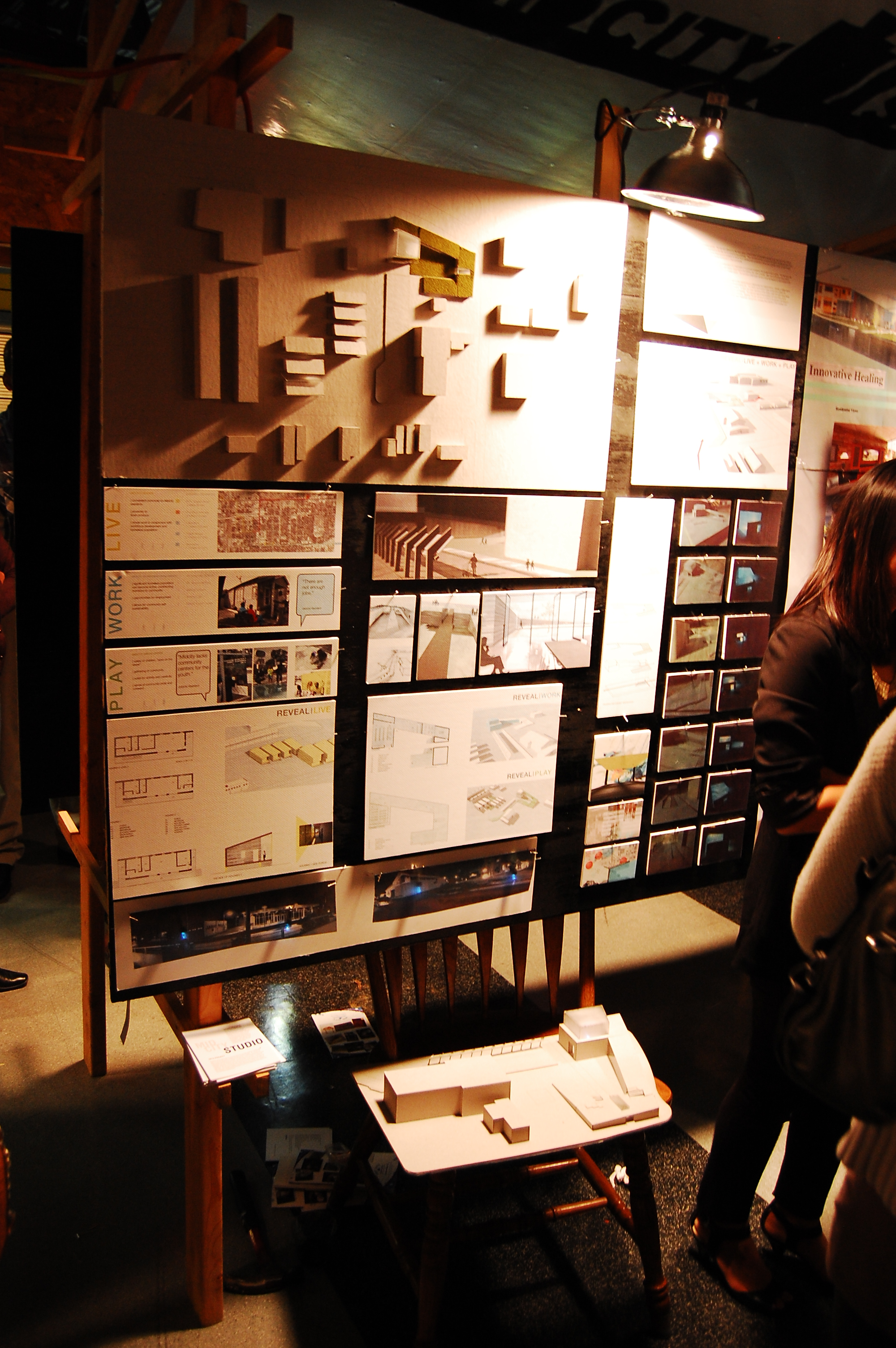 011_Each group of students had 4' x 4' of space to plan and construct their display for White Light Night.JPG