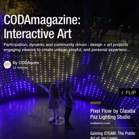 CODAmagazine: Interactive Art, 2016