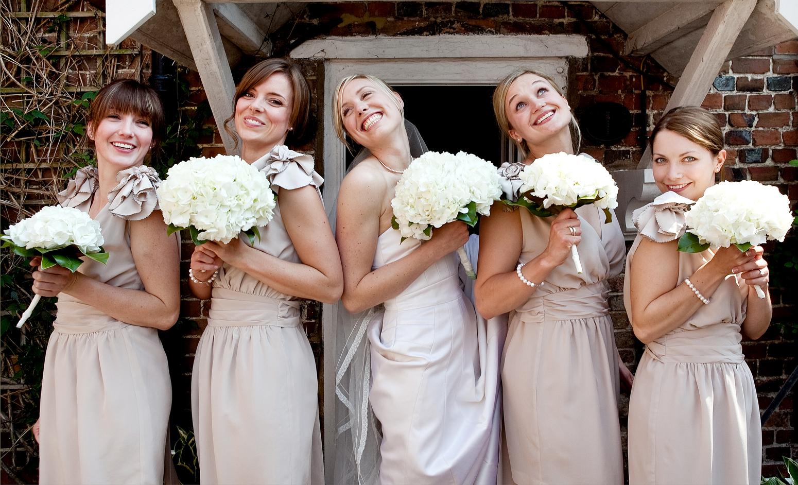 Bridesmaid in England