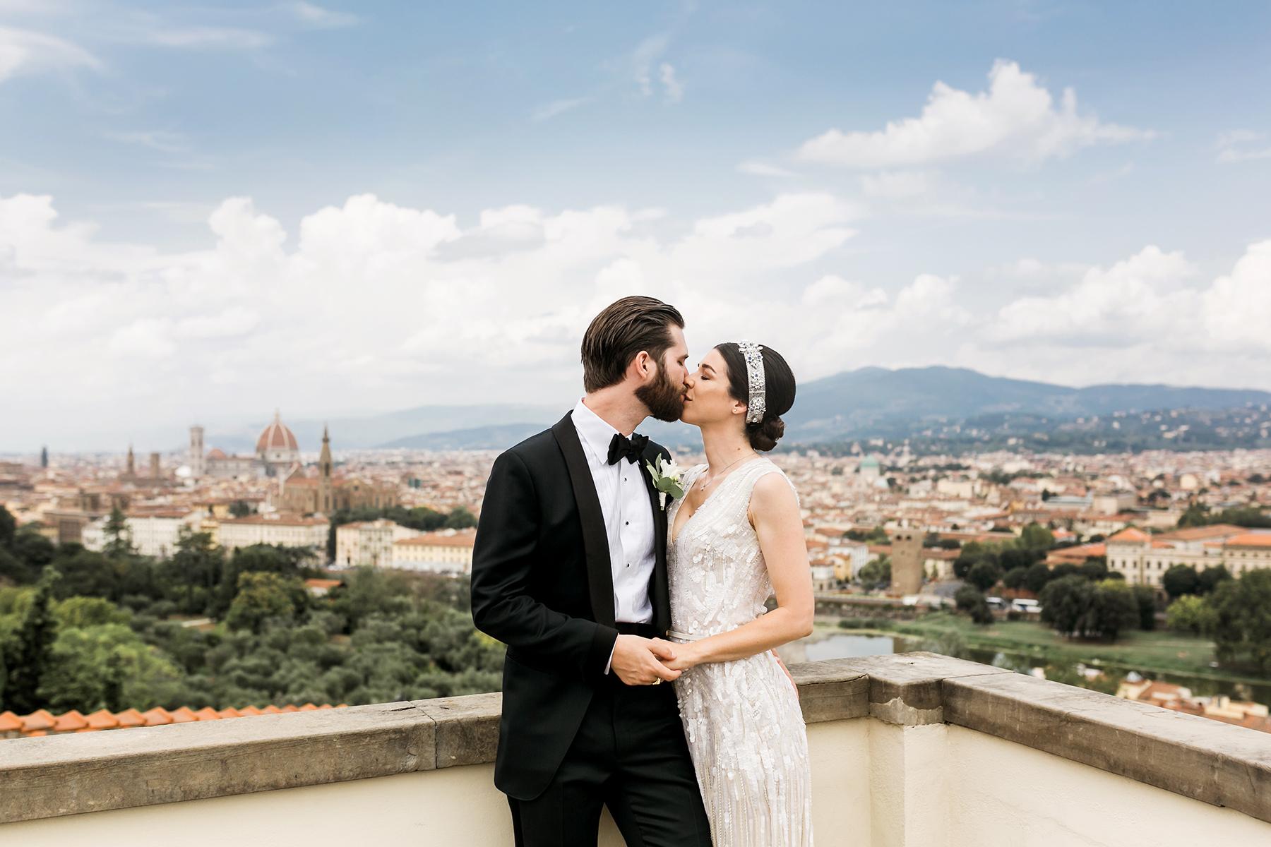 Wedding in Florence Italy Villa La Vedetta