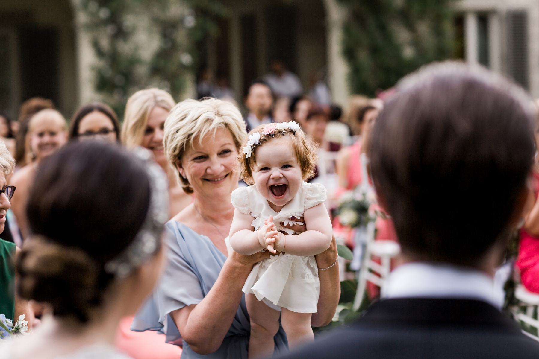Garden wedding in Italy Villa La Vedetta