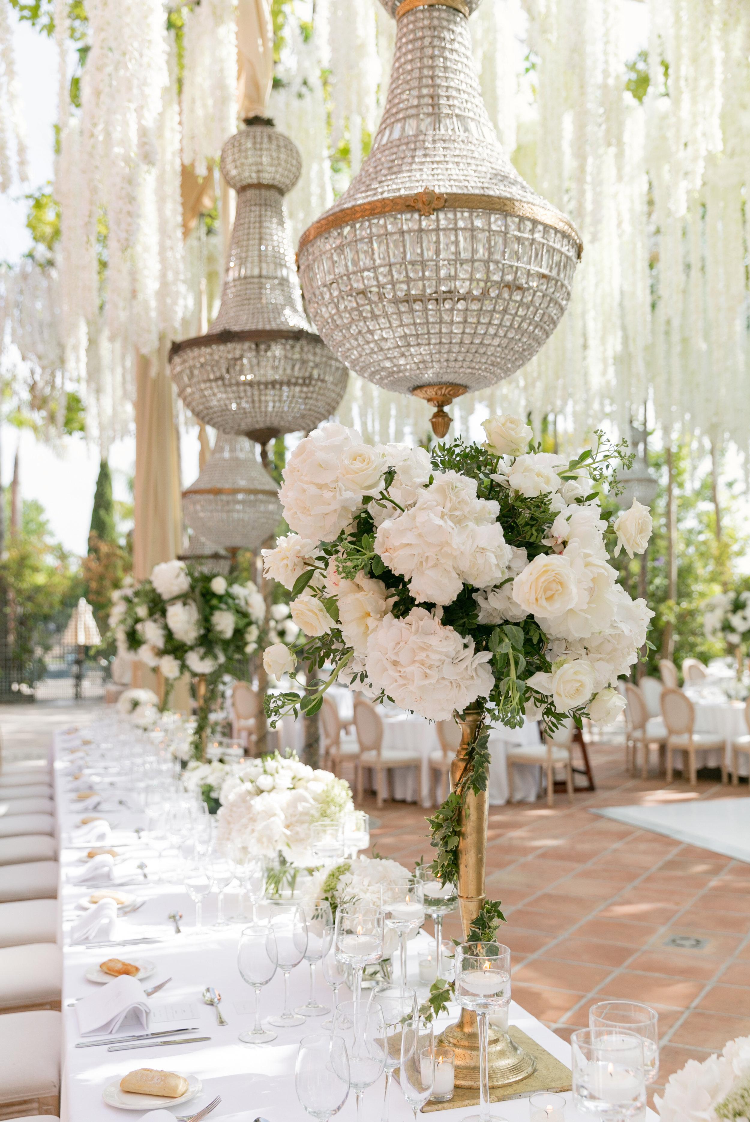 Luxury wedding deco flowers