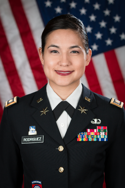 Major Julianna Rodriguez ( Source:  NACCSE  )