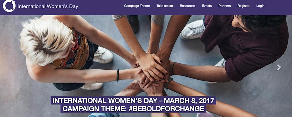 Image Source:    International Women's Day