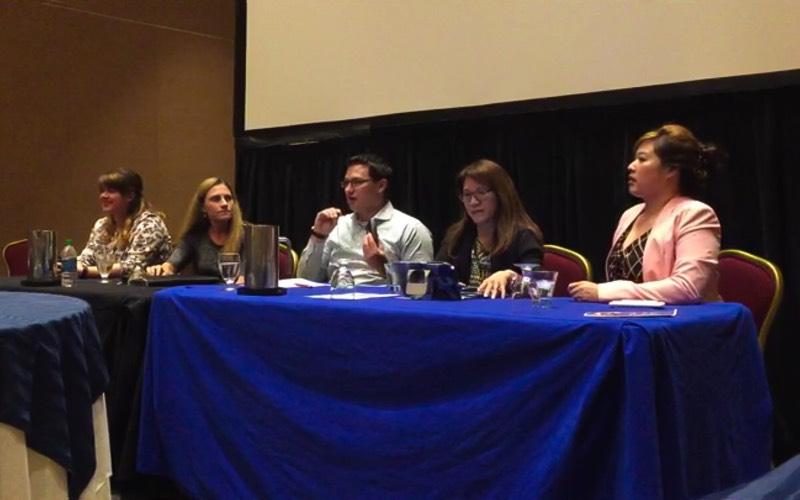 L-R: Shea McHugh, Diane Delaney,  Max Shuftan,Andrea Hoy,My-Ngoc Nguyen