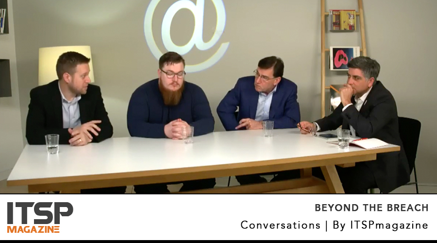 Beyond The Breach | A Live Panel From RSA Conference 2018 In San Francisco    Recorded Live Apr 18 | 10:30 am PST | United States  [Now available on demand]   MODERATOR  Sean Martin, Editor-in-Chief, ITSPmagazine   EXPERTS  Dr. Bret Fund, CEO, SecureSet Robert M. Lee, CEO, Dragos Bernard Harguindeguy, CEO, Elastic Beam  (ISC)² members can earn 1 CPE credit here on ITSPmagazine    Watch it or listen to the podcast →