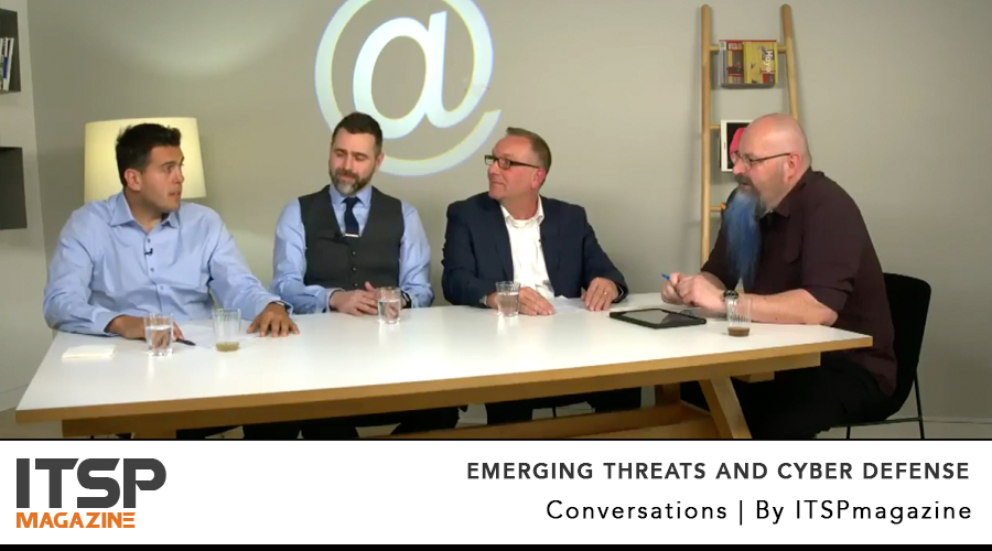 Emerging Threats And Cyber Defense | A Live Panel From RSA Conference 2018 In San Francisco    Recorded Live Apr 18 | 1:00 pm PST | United States  [Now available on demand]   MODERATOR  Chris Roberts, Chief Security Architect, Acalvio   EXPERTS  Nick Bilogorskiy, Cybersecurity Strategist, Juniper Networks Dan Lohrmann, Chief Strategist & Chief Security Officer, Security Mentor Joseph Carson, Chief Security Scientist, Thycotic  (ISC)² members can earn 1 CPE credit here on ITSPmagazine    Watch it or listen to the podcast →