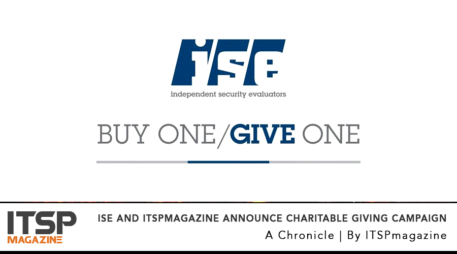 ISE and ITSPmagazine Announce Charitable Giving Campaign.jpg