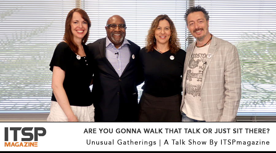 Are you gonna walk that talk or just sit there?     Aren't you tired of hearing about the lack of diversity in cybersecurity? Because we have had enough.   With: Deidre Diamond, Julian Waits | Selena Templeton and Marco Ciappelli