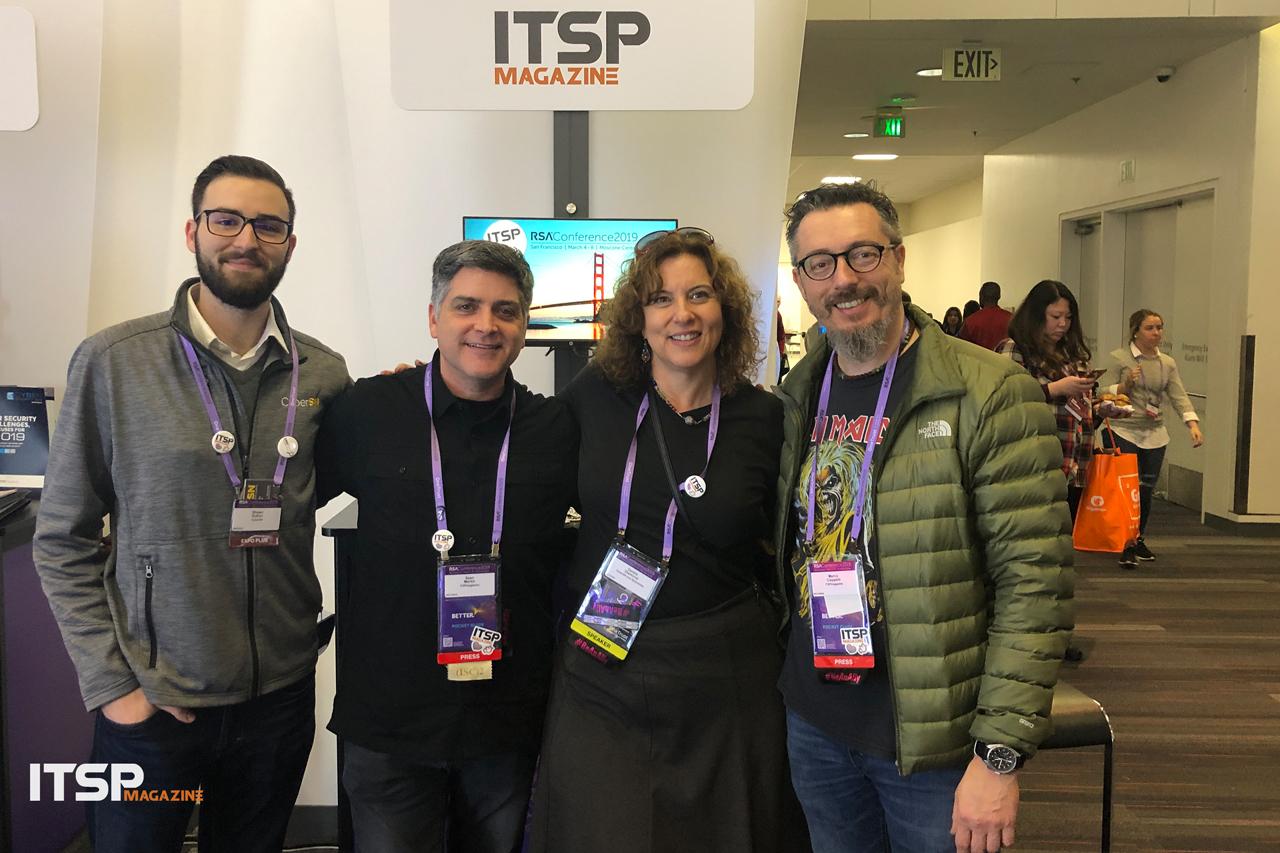 Shawn Sutton (  CyberSN  ), Sean Martin, Deidre Diamond (  CyberSN  ), Marco Ciappelli
