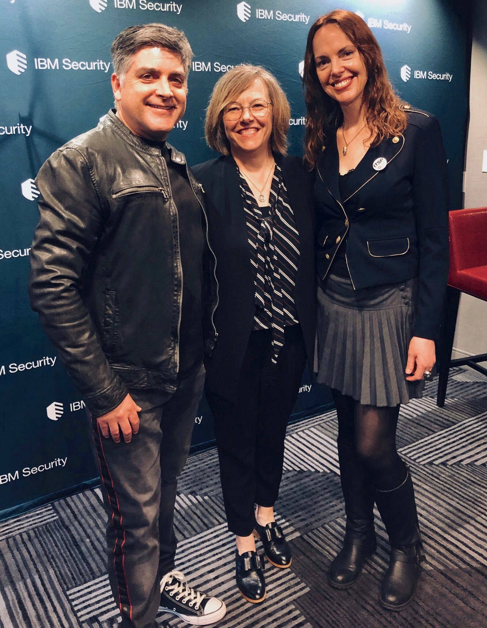 Sean Martin, Heather Ricciuto (IBM), Selena Templeton