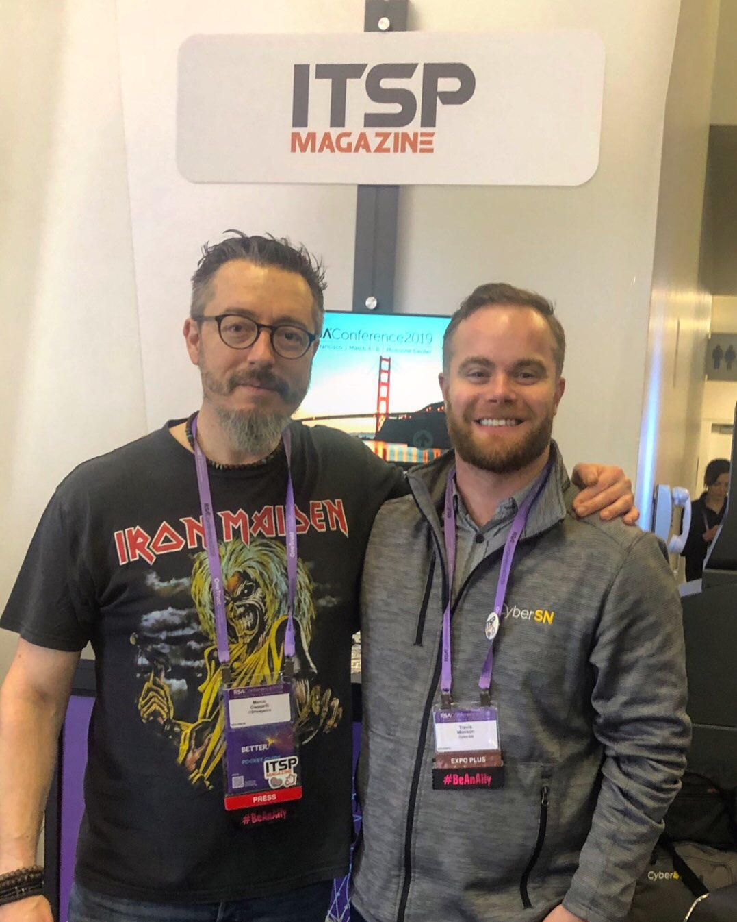 Marco Ciappelli and Travis Monson (  CyberSN  )