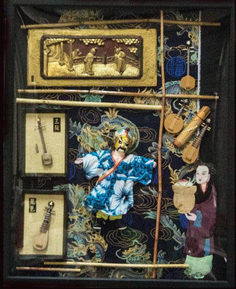 Blue Puppet